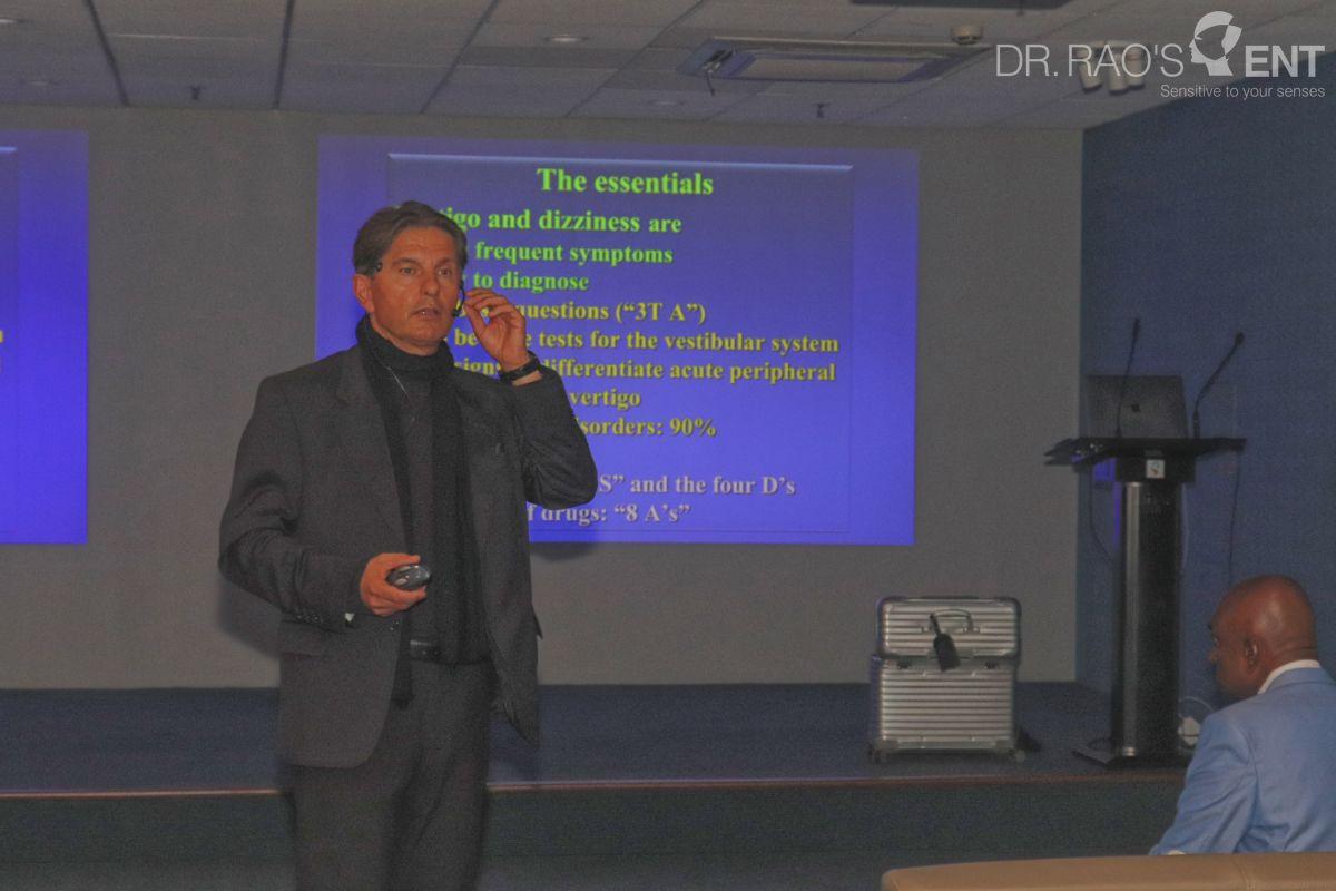 Best Vertigo expert   Dr.Rao's ENT