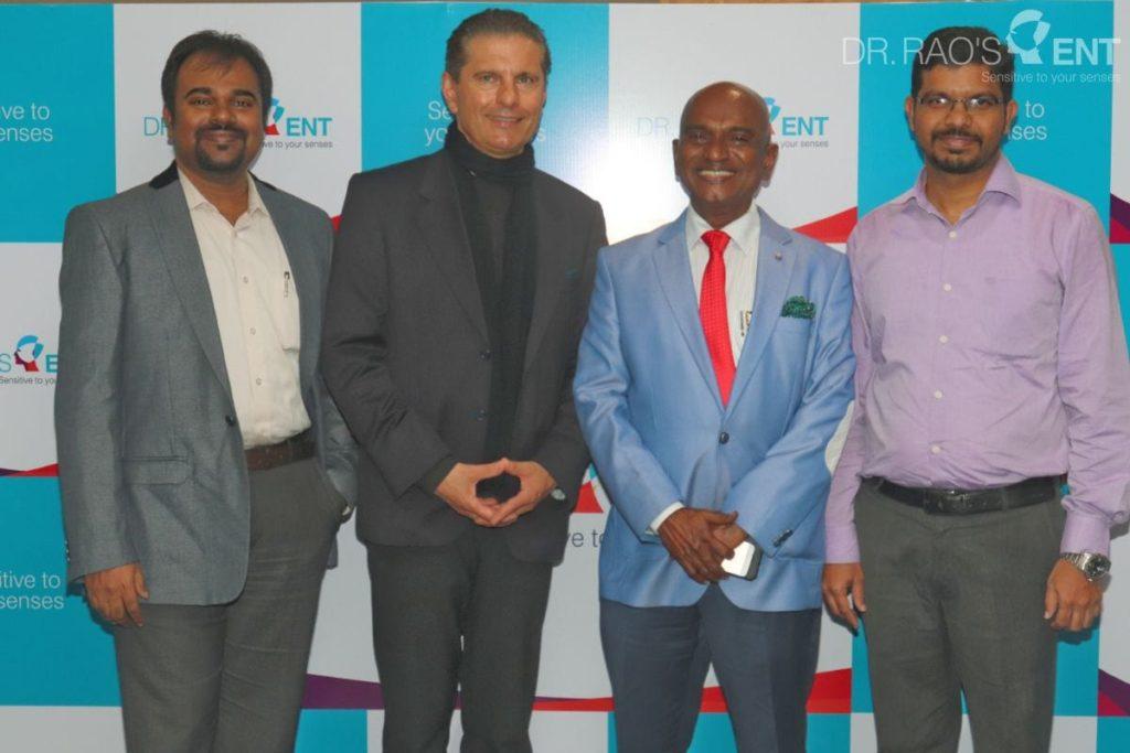 Dr Michael Strupp, renowned Vertigo expert   Dr Rao's ENT