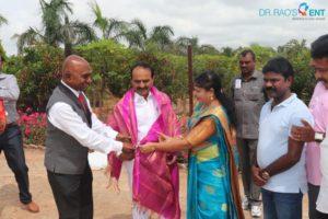 Dr GVS Rao | Honorable Minister Sri Etela Rajendar garu